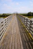 Landscape The Po Delta. Photo pictureLandscape of The Po Delta River in Italy Royalty Free Stock Photography