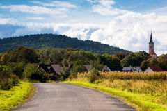 Landscape, Poland. Landscape in southern part of Poland Royalty Free Stock Images