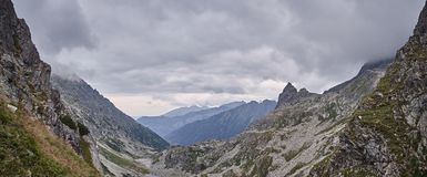 Landscape in polish Tatra mountains Royalty Free Stock Photos
