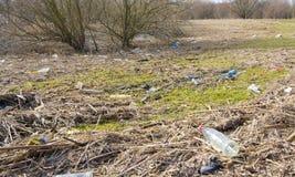 Landscape pollution Stock Image