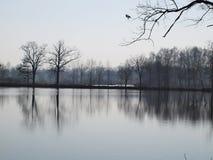 Landscape ponds, South Bohemia royalty free stock image