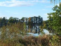 Landscape ponds, South Bohemia Stock Photography