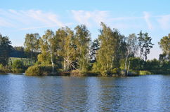 Landscape ponds, South Bohemia Stock Image