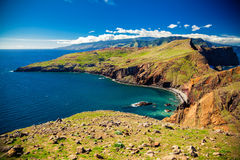 Landscape at Ponta do Sao Lourenco Royalty Free Stock Photography