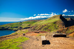 Landscape at Ponta do Sao Lourenco Royalty Free Stock Image