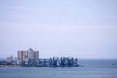 Landscape of the port industry Royalty Free Stock Images