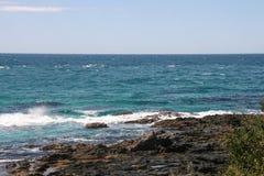 The landscape in port stephens,australia Stock Images