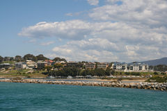 The landscape in port stephens,australia. The landscape is taken  in port stephens,australia Stock Image