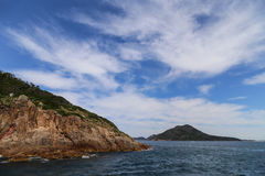 The landscape in port stephens,australia Stock Photography