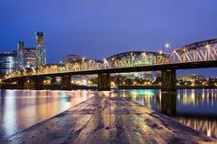 Landscape of Portland, Oregon, USA. Royalty Free Stock Images
