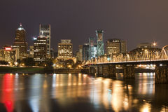 Landscape of Portland, Oregon, USA. Royalty Free Stock Photo