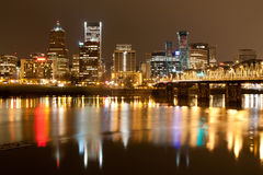 Landscape of Portland, Oregon, USA. Stock Photo