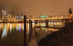 Landscape of Portland, Oregon, USA Royalty Free Stock Images
