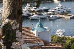 Landscape porto cervo esmerald cost sardinia Royalty Free Stock Images