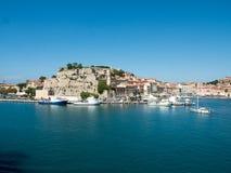 Landscape of Porto Ferraio Elba Island Tuscany Italy Royalty Free Stock Photo