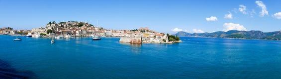 Landscape of Porto Ferraio Elba Island Tuscany Italy Stock Photography