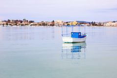 Landscape of Porto Heli Argolis Greece. Greek summer destination Stock Photography