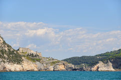 Landscape in Portovenere Royalty Free Stock Photo