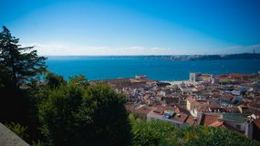 Landscape of Portugal in Europe royalty free stock photo