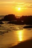 Landscape of the Portuguese coastline (Cabo Espichel) Royalty Free Stock Image
