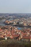 Landscape of Prague Royalty Free Stock Photography