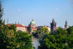 Landscape of Prague Stock Image
