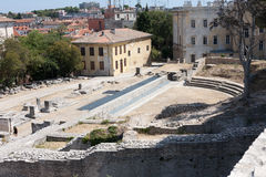 Landscape of Pula Royalty Free Stock Photography