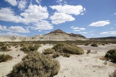 Landscape after Punta Loma near Puerto Madryn, a city in Chubut Province, Patagonia, Argentina Royalty Free Stock Image