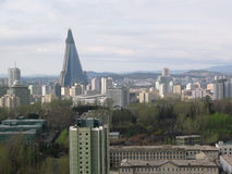 Landscape.Pyongyang. North Korea. Royalty Free Stock Photography