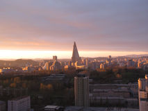 Landscape.Pyongyang. North Korea. Royalty Free Stock Photography
