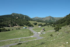 Landscape in Pyrenees Royalty Free Stock Image