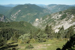 Landscape in Pyrenees Royalty Free Stock Photos