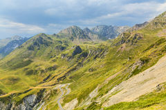 Landscape in Pyrenees Mountains Royalty Free Stock Image