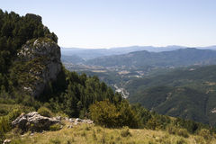 Landscape in Pyrenees, Spain Stock Image