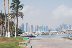 LANDSCAPE OF QATAR Stock Photos