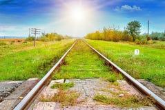 Landscape railroad Royalty Free Stock Photos