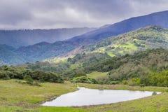 Landscape in Rancho Canada del Oro Open Space Preserve, California royalty free stock photo