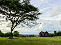 Landscape of Ratu Boko Palace. The Collection of The Beauty Around Java and Bali Island. Holiday Vibes Stock Photos