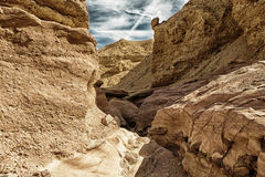 Landscape of the Red Canyon in the Eilat Mountains, Israel. Stock Photo