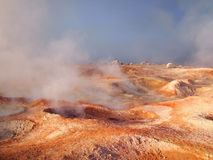 Landscape on the red planet Mars Royalty Free Stock Photo