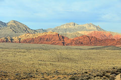 Landscape in Red Rock Canyon, Nevada Stock Photos