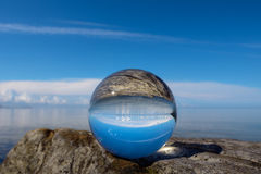 Landscape is reflected Stock Photography