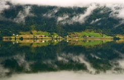 Landscape with reflexion Royalty Free Stock Images
