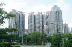 Landscape of residential buildings in Shenzhen Stock Photos