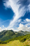 Landscape of Retezat Mountains, Romania, Europe Stock Photos