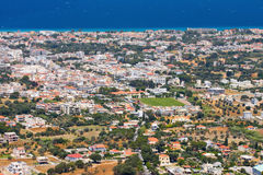 Landscape of Rhodes Island, Greece Royalty Free Stock Photos