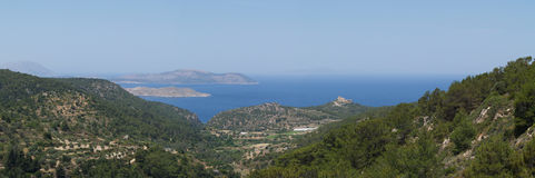 Landscape of Rhodos, Greece Royalty Free Stock Photography