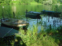 landscape river adda Royalty Free Stock Photos