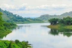 Landscape  river Royalty Free Stock Images