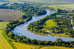 Landscape with the river Stock Image